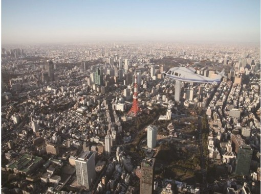 【千葉・浦安】TOKYOナイトクルーズ(ヘリコプタークルージング) 浦安ヘリポート発着 週末プラン