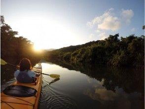 [沖縄·西表島]夕陽·月光皮艇