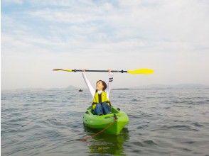 [Shiga / Lake Biwa / Kayaking] Experience kayaking at Lake Biwa, which is the best in Japan ♪ Two-seater is also OK!