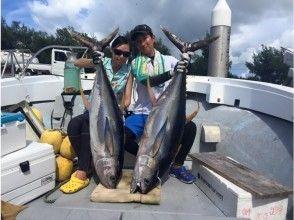 【宮古島|栄真丸】手ぶらで釣り人の夢 マグロ釣り!