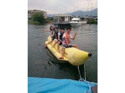 【滋賀・琵琶湖】トーイングチューブ(バナナボート・イーグルチューブ)