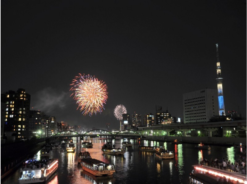 The 41st Sumida River Fireworks festival