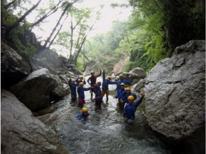 [ Shiga Prefecture · Takashima City] Nature fullness Yatsuda fall shower climbing