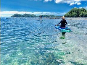 [Tokushima / Shikoku] [Children OK] Relaxing SUP cruising in the clear sea ★