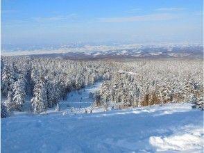 【北海道・大雪山系】三段山絶景スノーシュー★吹上温泉コースの画像
