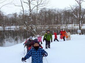 【北海道・富良野】スノーシュー体験・鳥沼公園散策ツアー(半日コース)の画像