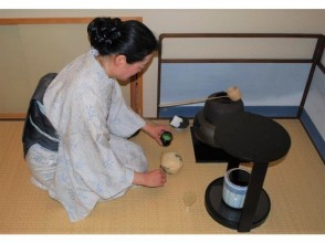 【Yamanashi · Kobuchisawa】 Full-fledged Tea Ceremony Experience