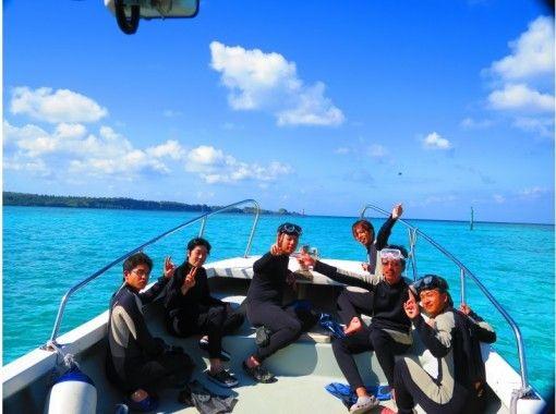 【沖縄県・恩納村】ボートで行く青の洞窟体験ダイビング
