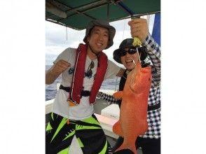【宮古島|栄真丸】手ぶらで本格大物釣り!ライト泳がせ一日大物釣り