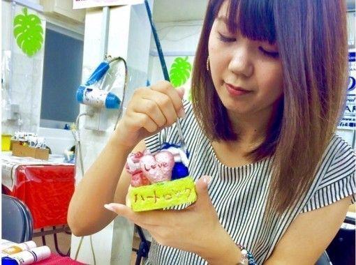 大人気!!うるま市でしっくいシーサー絵付け体験