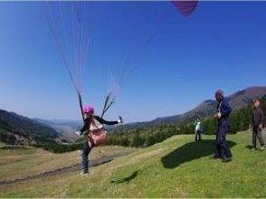 【体験コース】高さ30mからパラグライダーにチャレンジ!の画像