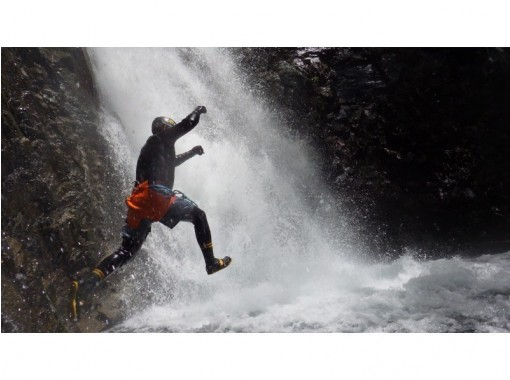 [Tochigi Prefecture, Nikko City] New experience in Nikko National Park! ! Full-fledged canyoning (half-day Plan) Swimsuit and towel only OK!の紹介画像