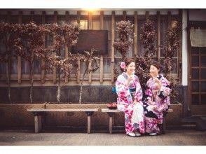 【金沢・金沢駅・着物レンタル】金沢駅より徒歩2分!着物で古都・金沢を散策しよう