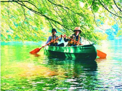 【長野・木崎湖】初心者でも安心 カヌー/カヤック体験ツアー(100分)の紹介画像