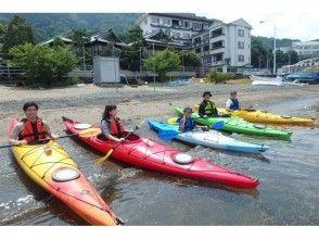[Shizuoka/ Numazu · Izu] enjoy in a short time. half-day Kayak Enjoy the fun floating in the sea on the course!