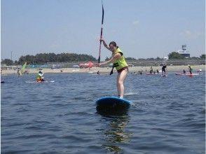 SUPレンタルコース(3時間)SUP 海上で、ヨガ・釣り・女子会まで!