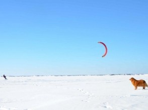 [Challenge Snow kite Nagano prefecture! ] Snow kite 2-day master course
