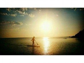 【 Okinawa · Kumejima Island 】 Sunset SUP