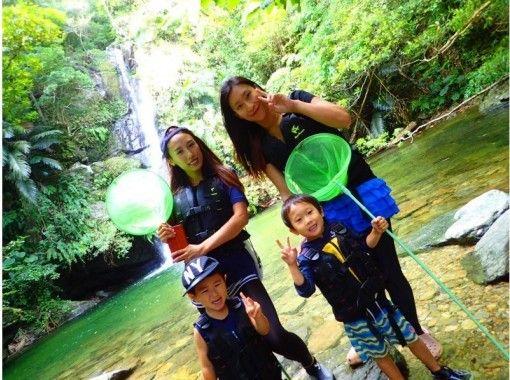 リバートレッキング&青の洞窟シュノーケリング沖縄の海と山を満喫セットプラン☆