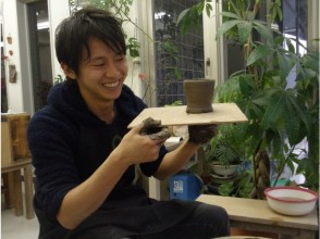 [Tokyo ・ Meguro] Using 3 kg of clay, making it, perfect score! pleasant! Electric robo experience