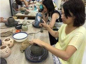 [Tokyo Meguro] Small lamp shade experience of original design with handmade ceramics