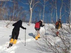 【北海道・摩周湖】初心者でも安心!スノートレッキング体験の画像