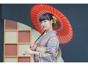 "Kyoto Gion Kimono Rental ""Standard Plan"" Empty-handed OK, free luggage storage!"