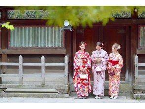 """京都G园和服租赁"""" Furisode计划""""空手行,免费行李寄存! 10岁〜"""