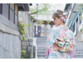 """Kyoto Gion """"Kimono rental plan"""" limited to groups of 20 or more Group / company events are welcome! Free luggage storage!"""