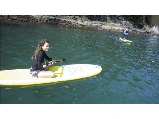 【静岡・伊豆・下田】スタンドアップパドルサーフィン・SUP体験★90分コースの紹介画像