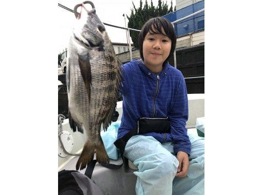 【東京・羽田】激安!「クロダイ」貸切り船★3名までOK ♪ 120分 釣った魚を食べれるお店紹介可