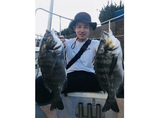 【東京・羽田】激安!「クロダイ」乗り合い船★6名までOK ♪120分 釣った魚を食べれるお店紹介可の紹介画像