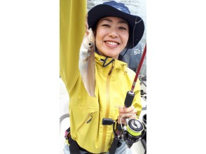 """[Tokyo / Haneda] Cheap! """"MEGA Kiss"""" charter boat ★ Up to 7 people OK ♪ You can introduce the fish you caught ♪ 180 minutes"""