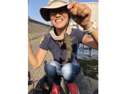 【神奈川・川崎】ハゼ釣り教室★20名までOK ♪ 180分・陸からだから船が苦手でも大丈夫