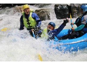 [Hokkaido ・ The thrilling mini in Hidaka Rafting]] Kamogawa or Sharyu River half-day course