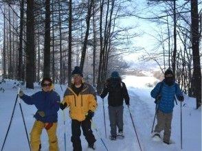 【北海道・富良野】スノーシュートレッキング ~麓郷周辺散策~の画像