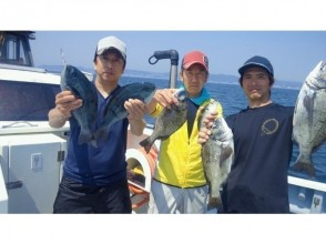 "【 Shonan · Kamakura 】 ""Rei"" & ""Masamaru"" collaboration plan ★ Fishing fish, fishing lunch plan (2 First name ~)"