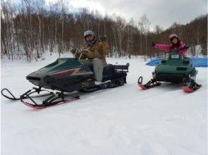 [ฮอกไกโด Furano] การเดินทางไปทั่วโลกเงิน! ประสบการณ์เจ็ตสกีหิมะ! ! ★ 1 ที่นั่ง· 250cc ★ภาพของ
