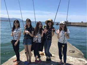 """[Fukui ・ Sangoku] """"Sea fishing experience class"""" complete Empty-handed! With instructor!"""