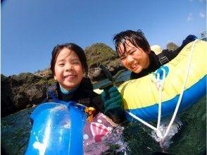 【沖縄・青の洞窟】2歳から出来る個別制のボートシュノーケル! 高画質な写真をすぐにスマホへお届け!