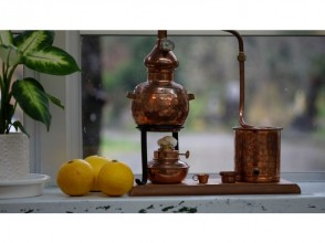 【宮崎・日南】精油(天然のアロマオイル)の蒸留体験!オリジナルバスソルト作りも!