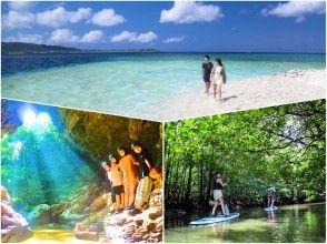 [Iriomote Island popular No. 1 tour] ⑨ Regional common coupon OK! Selectable mangrove SUPor canoe & limestone cave exploration & landing on Barasu Island