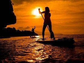 [西表岛/晚上] ⑬ 包裹在茜草色的夕阳中......可选的日落SU或独木舟之旅[照片数据免费]