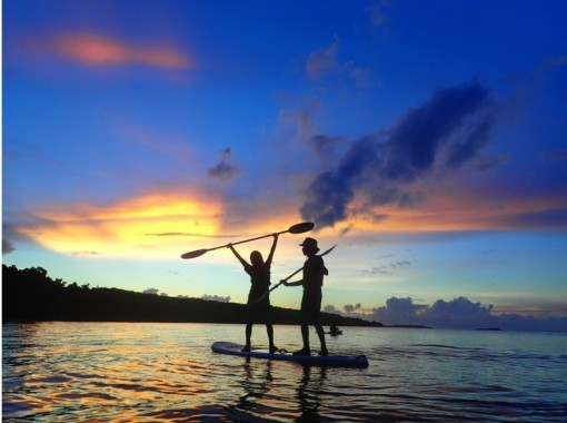 [Okinawa / Iriomote Island] ⑬ Regional common coupon OK! [Evening] Luxury selectable sunset SUPor canoe where you can enjoy mangrove and sunsetの紹介画像