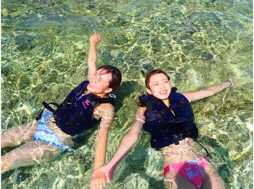 [Okinawa / Iriomote Island] ⑯ Regional common coupon OK! [half-day] Sea turtles and snorkel! Barasu Island Snorkeling [free photo data]の紹介画像