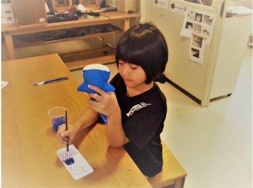 【沖縄・宜野座】海の生物やシーサーの素焼きを自分色に!5才から参加OK!