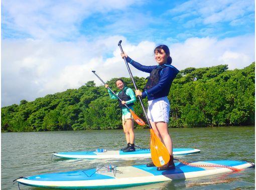【石垣島/半天】從初學者到有經驗的人! SUor獨木舟體驗之旅,您可以選擇天然紀念物的紅樹林[照片數據免費]の紹介画像