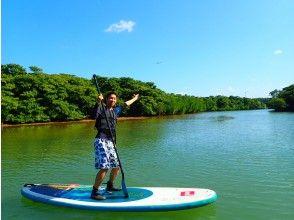 "[Ishigaki Island / 1st] ⑦ Feel nature in the sea and river! ""Phantom Island"" landing & snorkeling & mangrove SUPor canoe [photo data free]"