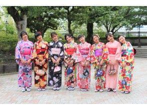 [Tokyo / Asakusa] <Group plan> Reservations for 5 or more people are very profitable! Kimono / Yukata rental plan! 3 minutes walk from Asakusa station!