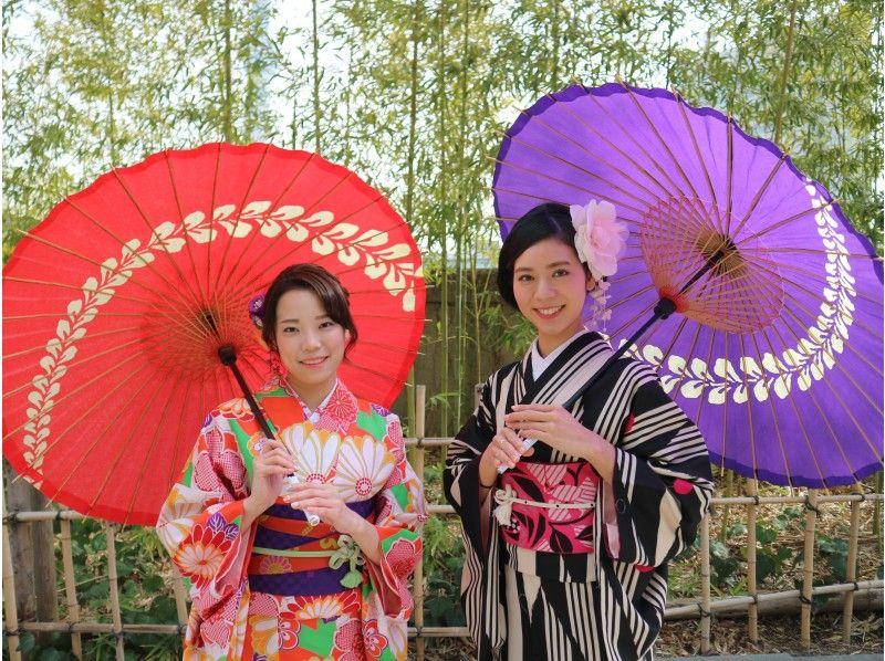 ae4ac20e178a2   Tokyo · Ryori  Asakusa Kimono beauty (1Day) Introduction image of Rental  plan